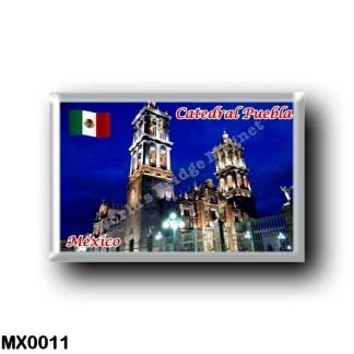 MX0011 America - Mexico - Catedral Puebla