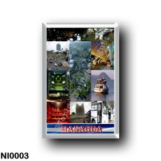 NI0003 America - Nicaragua - Managua Mosaic