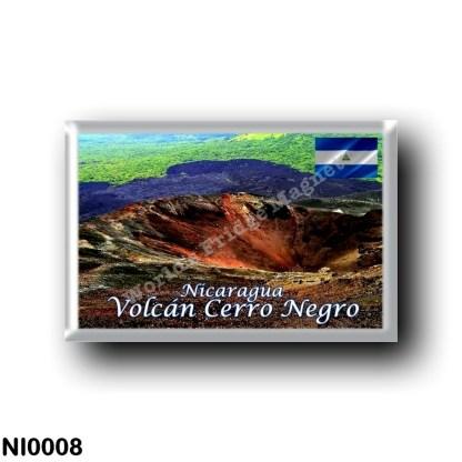 NI0008 America - Nicaragua - Volcán Cerro Negro