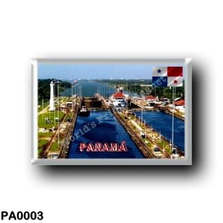 PA0003 America - Panama - Esclusas del Canal de Panamá