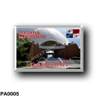 PA0005 America - Panama - Templo Bahá'í en San Miguelito