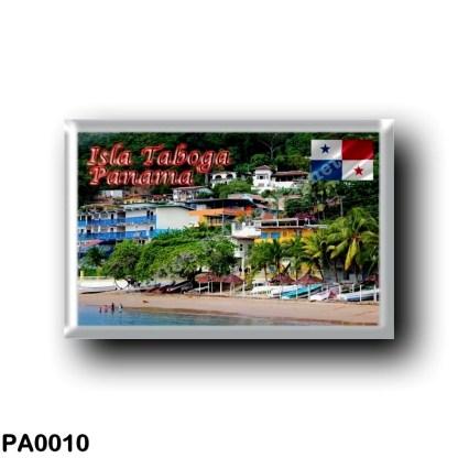 PA0010 America - Panama - Isla Taboga