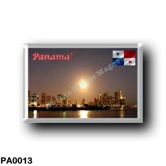 PA0013 America - Panama - Avenida Balboa