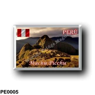 PE0005 America - Peru - Machu Picchu - Cozco