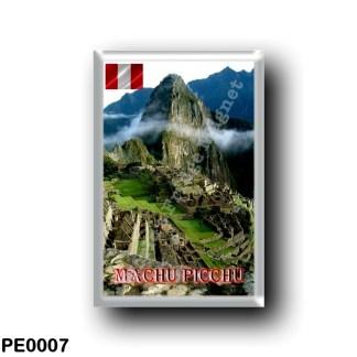 PE0007 America - Peru - Machu Picchu