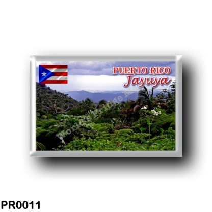 PR0011 America - Puerto Rico - Jayuya