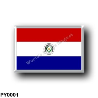 PY0001 America - Paraguay - Paraguayan Flag