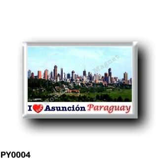 PY0004 America - Paraguay - Asunción I Love