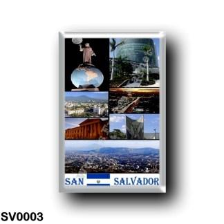 SV0003 America - el Salvador - San Salvador Mosaic