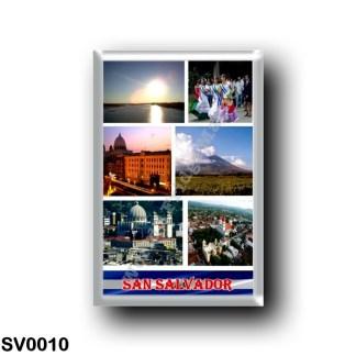 SV0010 America - el Salvador - Mosaic