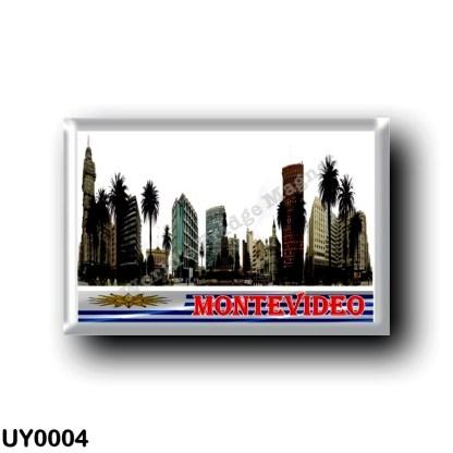 UY0004 America - Uruguay - Montevideo - Plaza Independencia