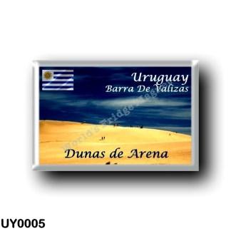 UY0005 America - Uruguay - Barra De Valizas - Dunas de Arena
