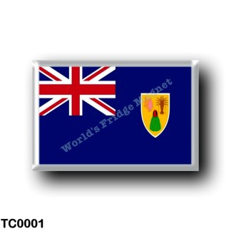 TC0001 America - Turks and Caicos Islands - Flag