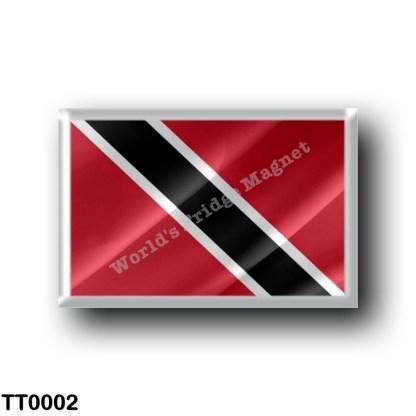 TT0002 America - Trinidad and Tobago - Flag Waving