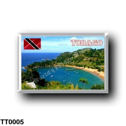 TT0005 America - Trinidad and Tobago - Tobago - Parlatuvier Bay View