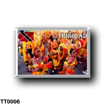 TT0006 America - Trinidad and Tobago - Trinidad - Orange Carnival Masqueraders