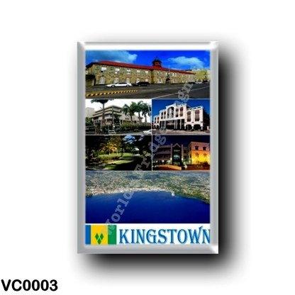 VC0003 America - Saint Vincent and the Grenadines - Kingstown Mosaic