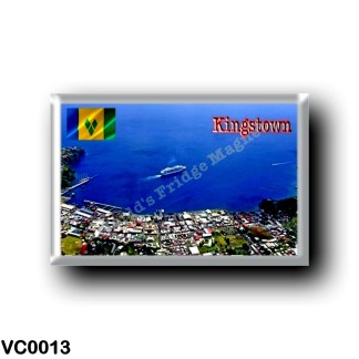 VC0013 America - Saint Vincent and the Grenadines - Kingstown Aerial View