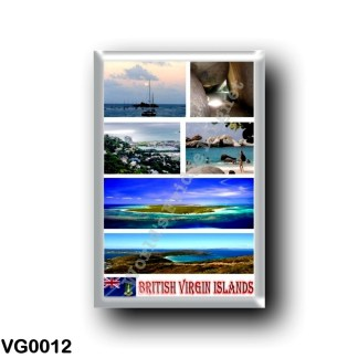 VG0012 America - British Virgin Islands - Mosaic
