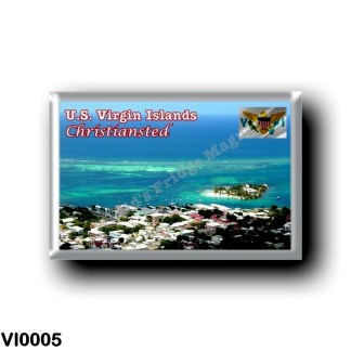 VI0005 America - American Virgin Islands - Christiansted - Panorama