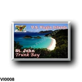 VI0008 America - American Virgin Islands - Saint John Trunk Bay