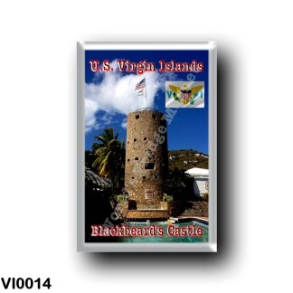 VI0014 America - American Virgin Islands - Charlotte Amalie - Blackbeard's Castle
