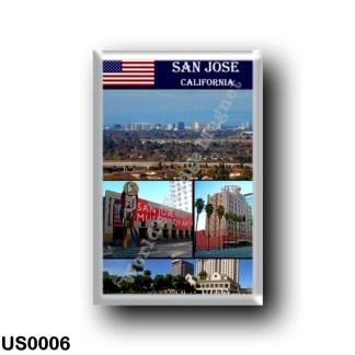 US0006 America - United States - San Josè - I Love