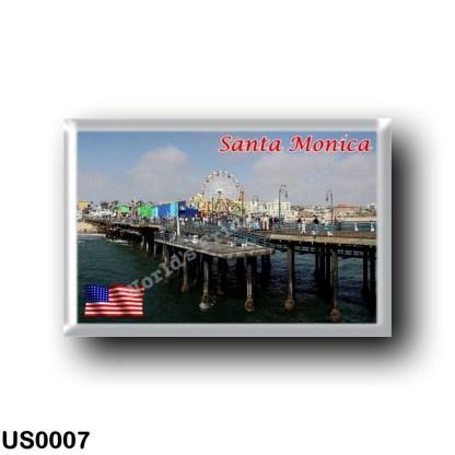 US0007 America - United States - Santa Monica - Beach