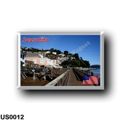 US0012 America - United States - Sausalito - Promenade