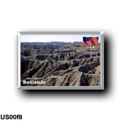 US00f8 America - United States - Dakota - Badlands
