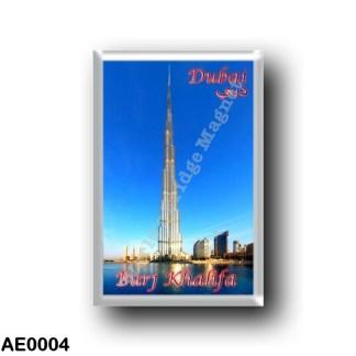 AE0004 Asia - United Arab Emirates - Dubai - Burj Khalifa