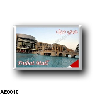 AE0010 Asia - United Arab Emirates - Dubai - Mall - Largest shopping center in the world