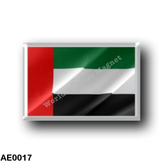 AE0017 Asia - United Arab Emirates - Flag Waving