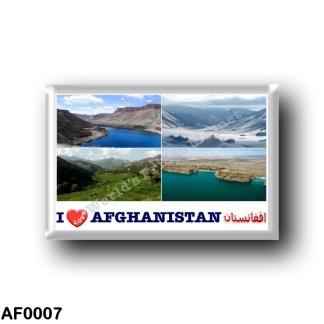 AF0007 Asia - Afghanistan - Landscapes - I Love