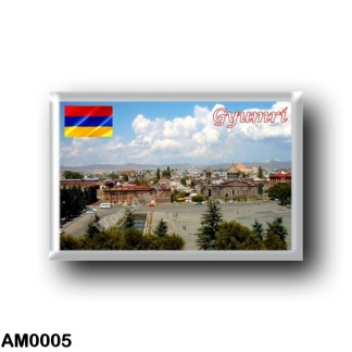 AM0005 Asia - Armenia - Gyumri Panorama