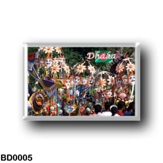 BD0005 Asia - Bangladesh - Dhaca - Celebrations - Bengali - new year