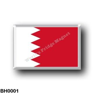 BH0001 Asia - Bahrain - Asia - Bahrain - Flag