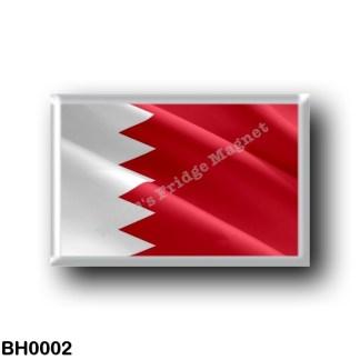 BH0002 Asia - Bahrain - Asia - Bahrain - Flag Waving