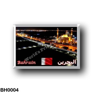BH0004 Asia - Bahrain - Asia - Bahrain - Grand Mosque By Night