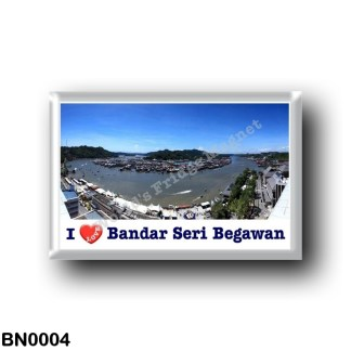 BN0004 Asia - Brunei - Bandar Seri Begawan - I Love