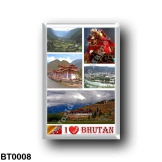 BT0008 Asia - Bhutan - I Love