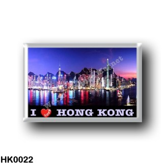 HK0022 Asia - Hong Kong - I Love