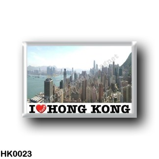 HK0023 Asia - Hong Kong - I Love