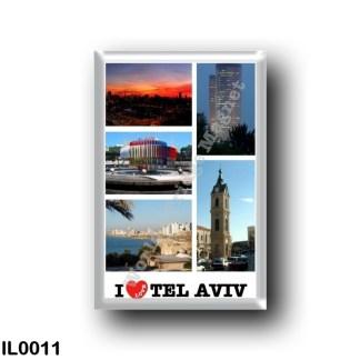 IL0011 Asia - Israel - Tel Aviv - I Love