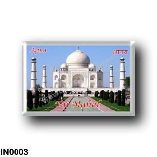 IN0003 Asia - India - Agra - Taj Mahal