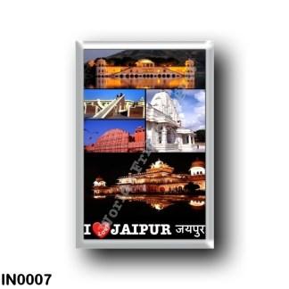 IN0007 Asia - India - Jaipur - I Love