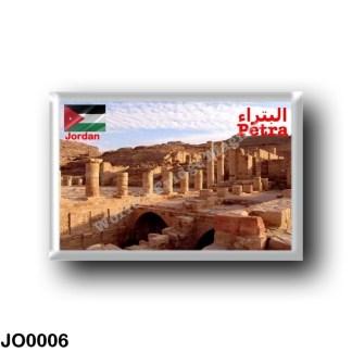 JO0006 Asia - Jordan - Petra - Antique Columns