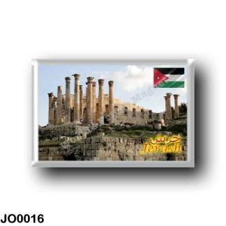 JO0016 Asia - Jordan - Jerash - Temple of Zeus