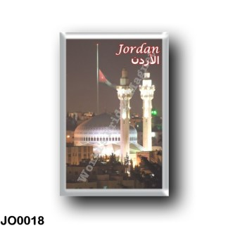 JO0018 Asia - Jordan - King Abdullah Mosque at Night