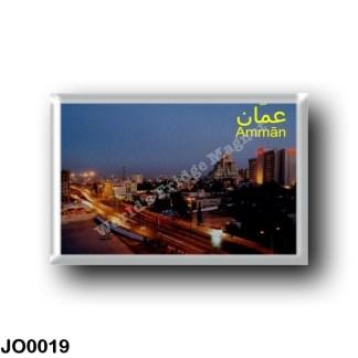 JO0019 Asia - Jordan - Amman By Night